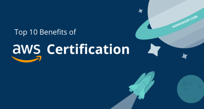 benefits of AWS certification